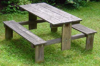 Basteltipp Kinder Gartentisch Mit Sitzbank
